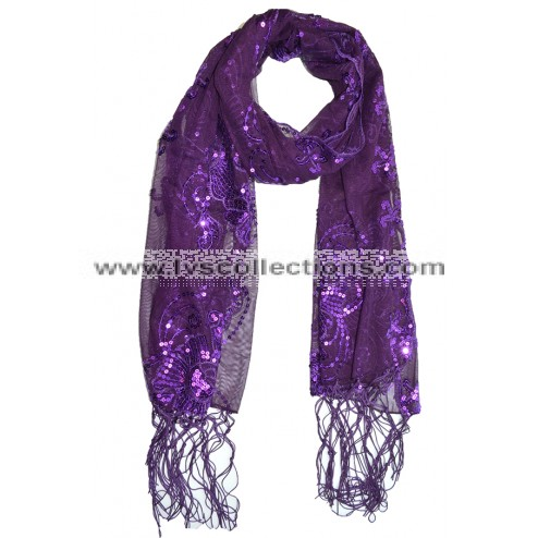 LP74 Fairy Sequin Scarf