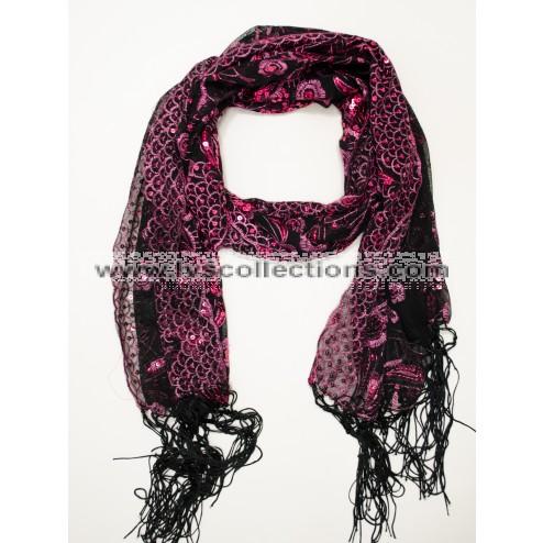 Black + Hot Pink