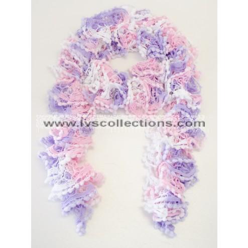 Pink + Lavender + White