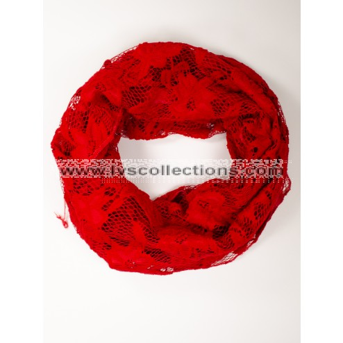 LVS1028 Infinity Floral Scarf