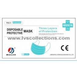3-Ply Protective Mask Box - 100pcs/box