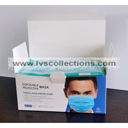 3-Ply Protective Mask Box - 50pcs/box - Individually Packaged