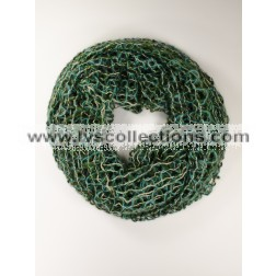 AG02 Loose-loop Knit Infinity Scarf