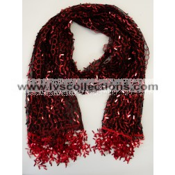 LP63 Sequin Oblong Scarf