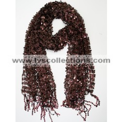 LP69 Sequin Embroidery Scarf
