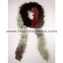 LVS101 Fancy Puffy Scarf