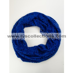 LVS1011 Lightweight Infinity Scarf with Small Holes