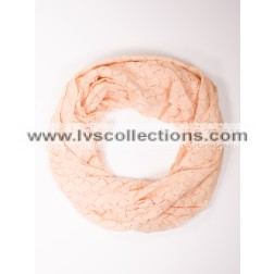 LVS1022 Solid Color Infinity Scarf