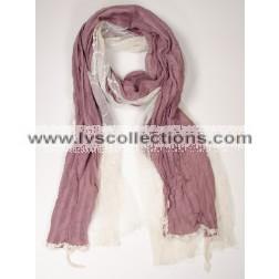 LVS1025 Floral Lace Scarf