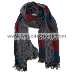 LVS121 Jeans Reversible Scarf