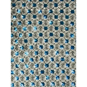 LP70 Sequin Small Floral Scarf