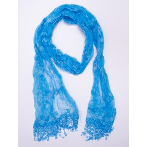 LVS201 Small Floral Lace Scarf